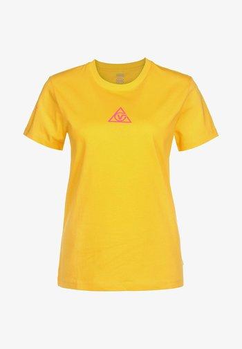 Print T-shirt - lemon chrome