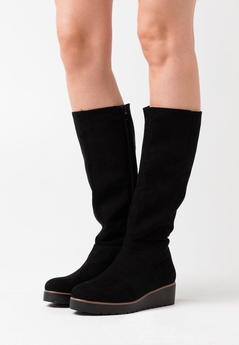 Anna Field - Wedge boots - black