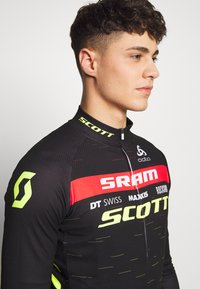 ODLO - STAND UP COLLAR FULL ZIP SCOTT SRAM - Sports shirt - black - 3