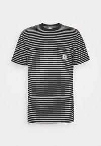 Element - BASIC STRIPES - Print T-shirt - flint black - 0