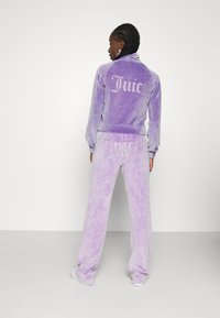 Juicy Couture - TANYA ACID TRACK - Sweater met rits - pastel lilac - 3