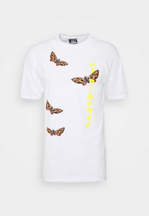 MOTHRA TEE - Print T-shirt - white
