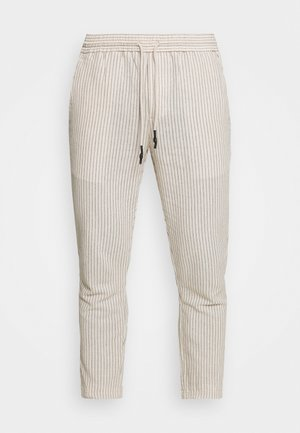 ONSLINUS LIFE CROP TAP PANT - Pantaloni - raw