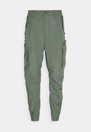FLIGHT CUFFED - Cargobroek - teal grey
