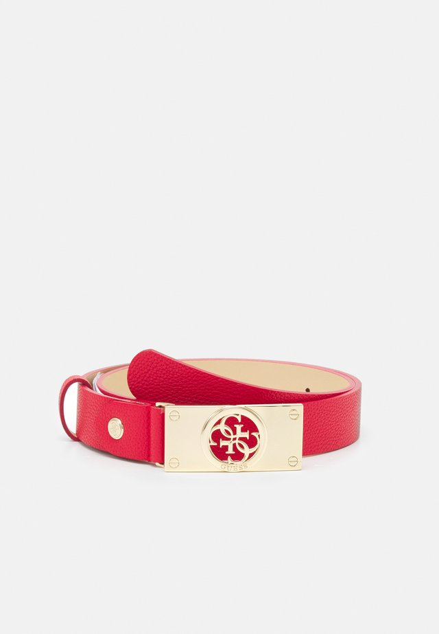 CARABEL ADJUSTABLE PANT BELT - Ceinture - red