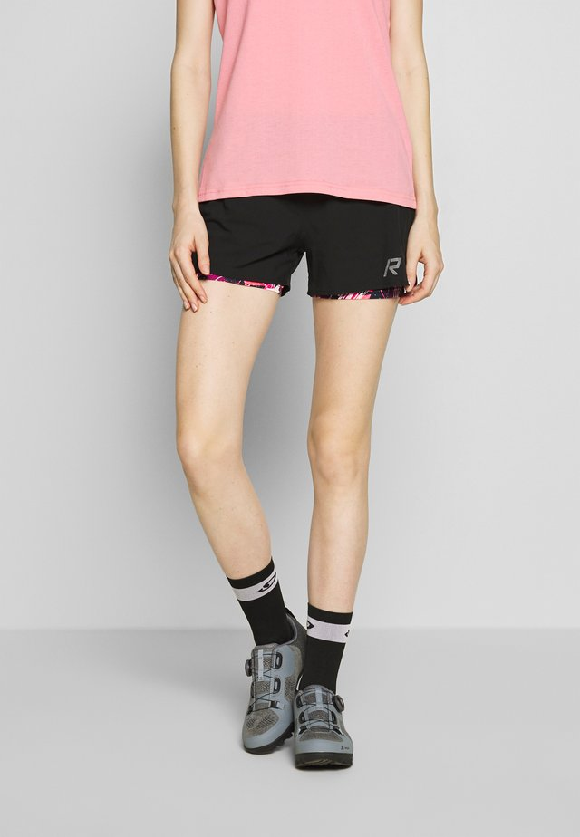 RUKKA MAHALA - Sports shorts - black