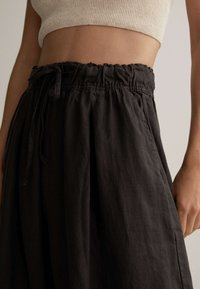 OYSHO - Trousers - dark grey - 4