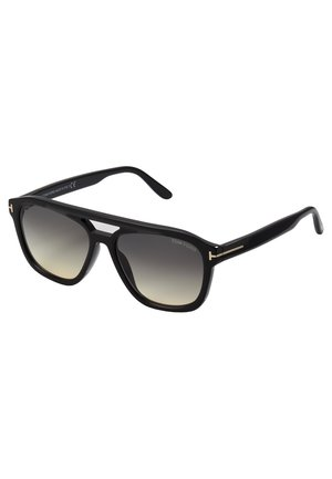 Sunglasses - shiny black/gradient smoke