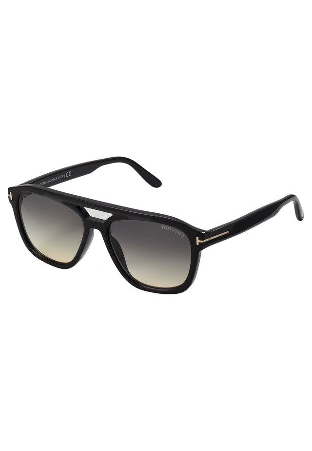 Aurinkolasit - shiny black/gradient smoke