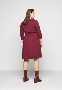 Dorothy Perkins Curve - WRAP DRESS - Day dress - berry - 2