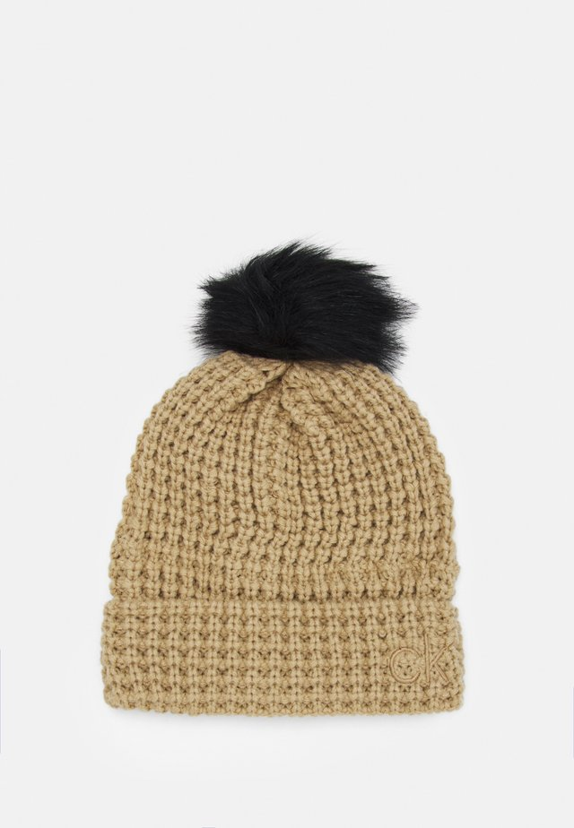 SWIFT BEANIE - Bonnet - old gold