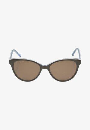 Sunglasses - brown-white-blue