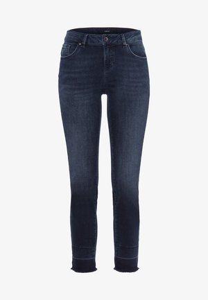 Jeans Skinny Fit - blue black destroy