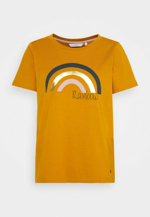 NUBRYCE - Print T-shirt - buck brown