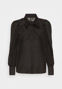 Vero Moda - VMBRIANA - Button-down blouse - black - 4