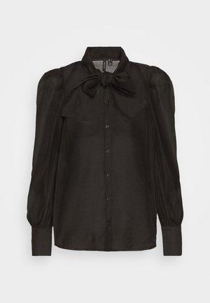 VMBRIANA - Button-down blouse - black