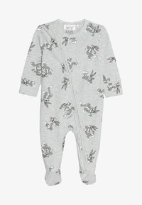 Cotton On - LICENCE ZIP THROUGH ROMPER BABY - Pyjamas - cloud marle - 4