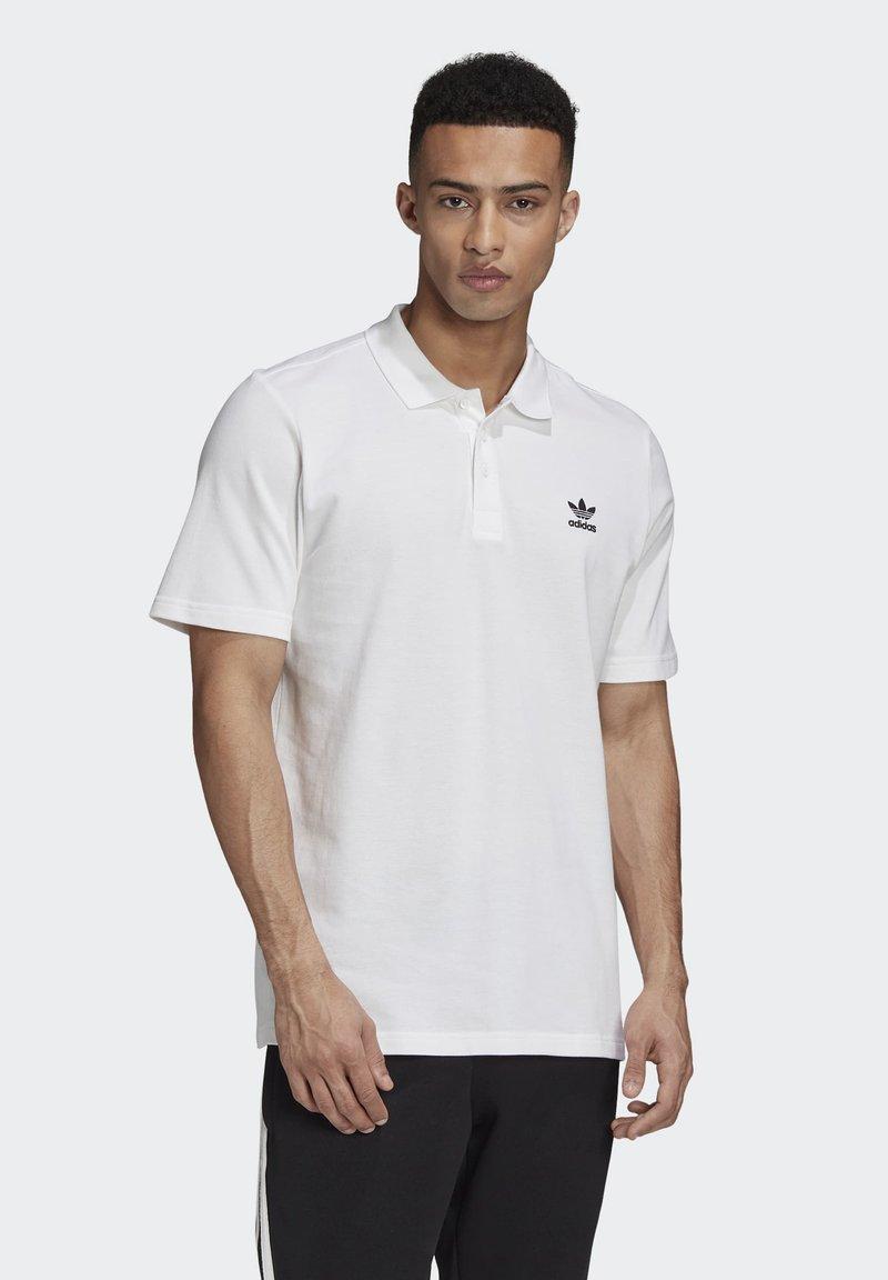 adidas Originals - TREFOIL ESSENTIALS POLO SHIRT - Polo shirt - white