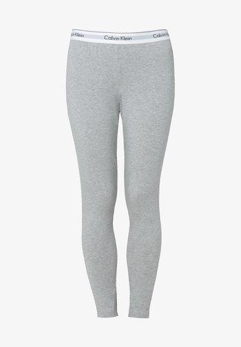 MODERN COTTON - Pantaloni del pigiama - grey heather