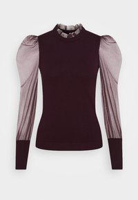 Morgan - MIBI - Long sleeved top - aubergine - 0