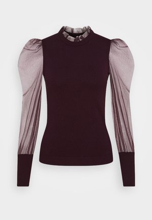 MIBI - Long sleeved top - aubergine