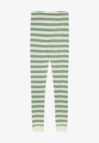 CeLaVi - BAMBOO STRIPE - Leggings - Trousers - elm green - 3