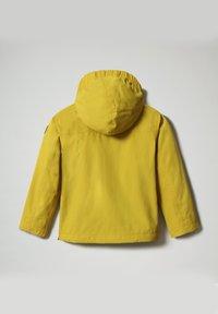 Napapijri - RAINFOREST SUMMER - Windbreaker - yellow moss - 1