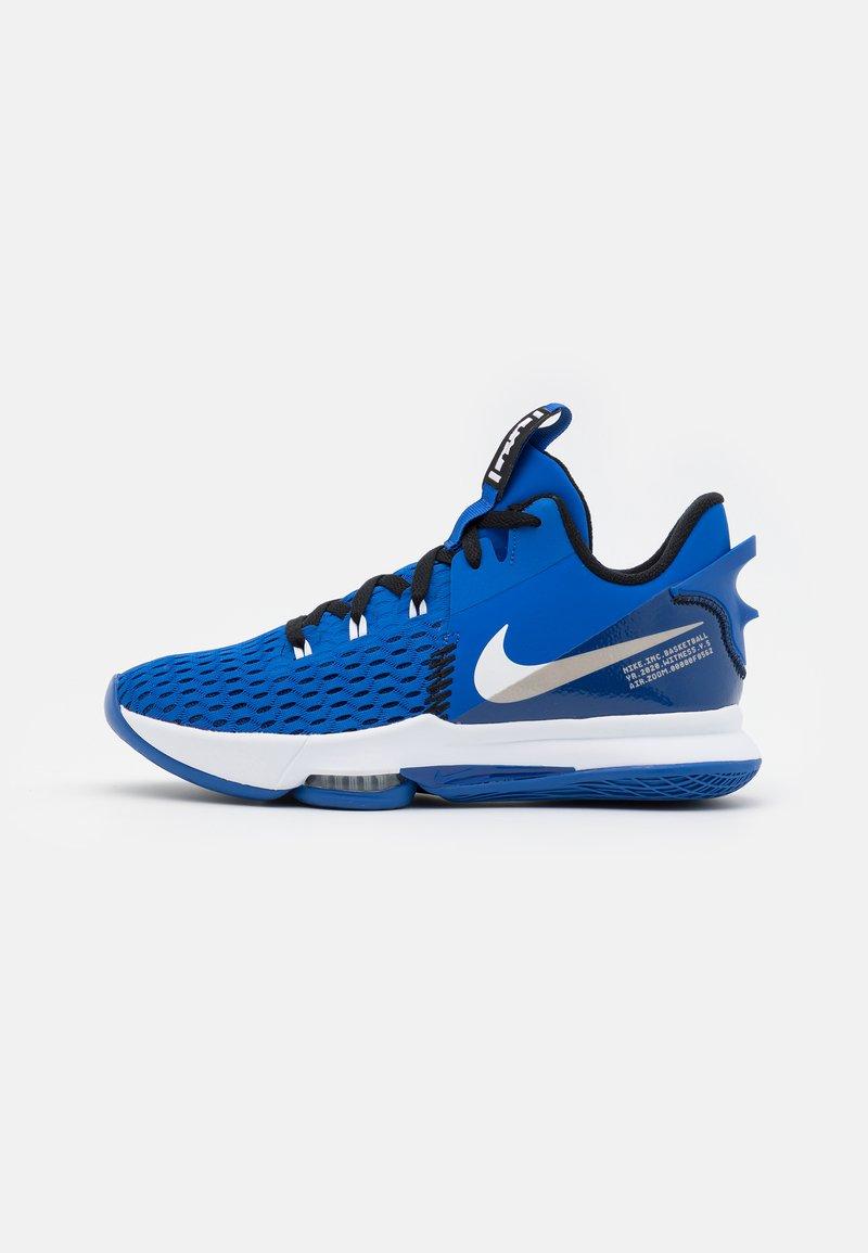 Nike Performance - LEBRON WITNESS 5 - Basketball shoes - game royal/white/black