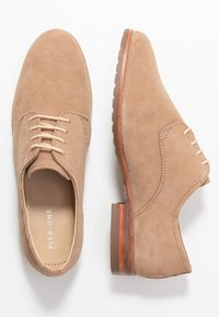 Pier One Wide Fit - Lace-ups - nude - 3