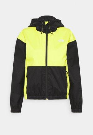 FARSIDE JACKET - Waterproof jacket - yellow/black