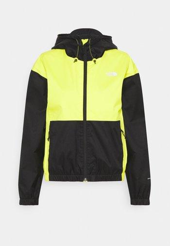 FARSIDE JACKET - Hardshell jacket - yellow/black