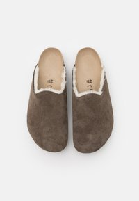 Birkenstock - AMSTERDAM PREMIUM UNISEX - Slippers - concrete gray - 3