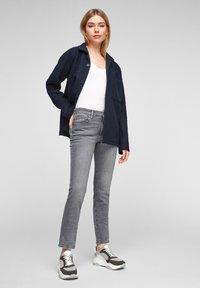 s.Oliver - Slim fit jeans - grey stret - 1