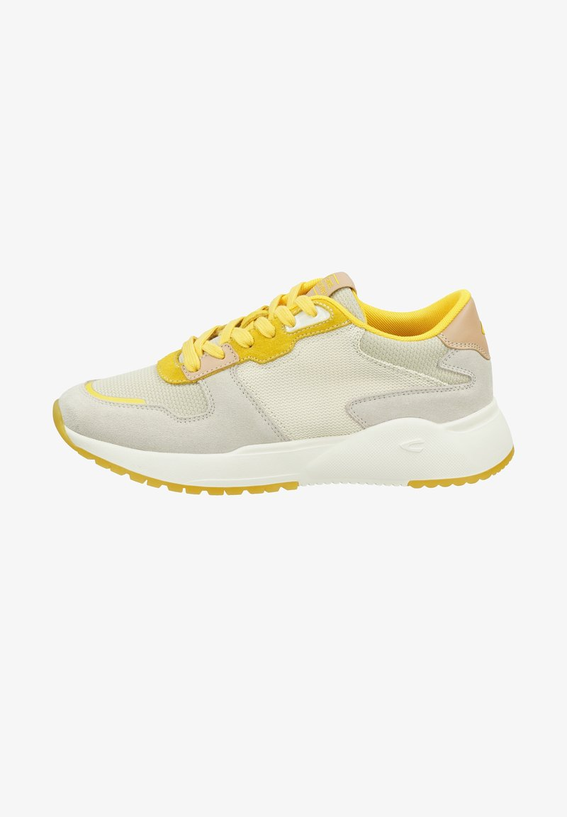 camel active - RAMBLE - Trainers - yellow off white