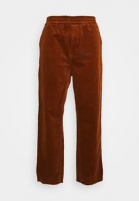 Carhartt WIP - FLINT PANT BARRINGTON - Chinos - brandy rinsed - 0