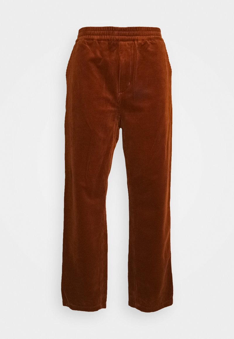 Carhartt WIP - FLINT PANT BARRINGTON - Chinos - brandy rinsed