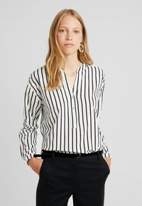 edc by Esprit - STRIPE - Long sleeved top - off white - 0