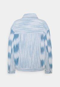 CECILIE copenhagen - AMALIA  - Summer jacket - denim/white - 1