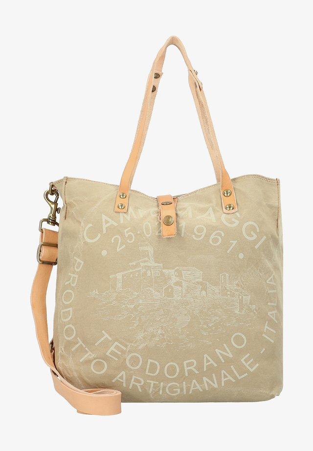 Handbag - beige panna