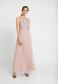 Lace & Beads - PRIYA PICASSO - Occasion wear - pink - 0