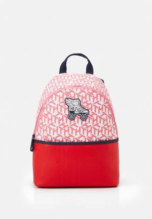 GIRLS SEASONAL MONO BACKPACK UNISEX - Rucksack - deep crimson/cotton candy