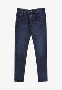 PULL&BEAR - Jeans slim fit - dark-blue denim - 6