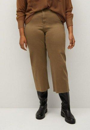 FLORENCE - Straight leg jeans - khaki