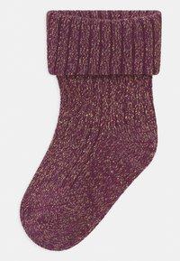 Name it - NBFROSIN 4 PACK - Socks - italian plum/deauville mauve - 1