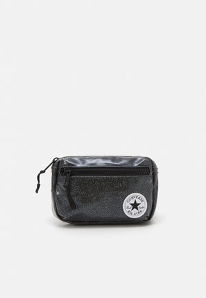 GLITTER WAIST PACK UNISEX - Across body bag - black