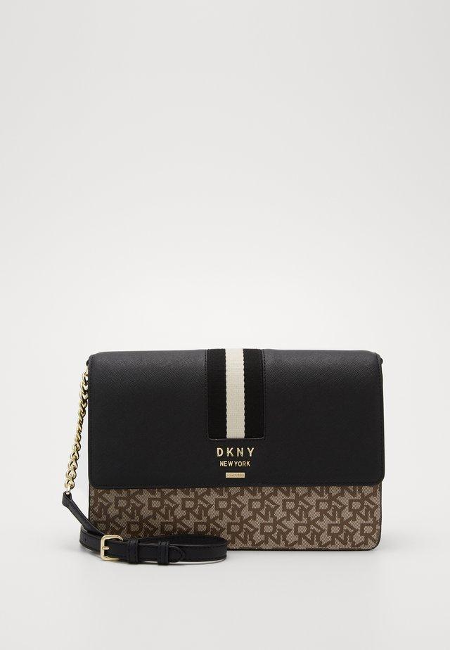LIZA - Handbag - chino/black