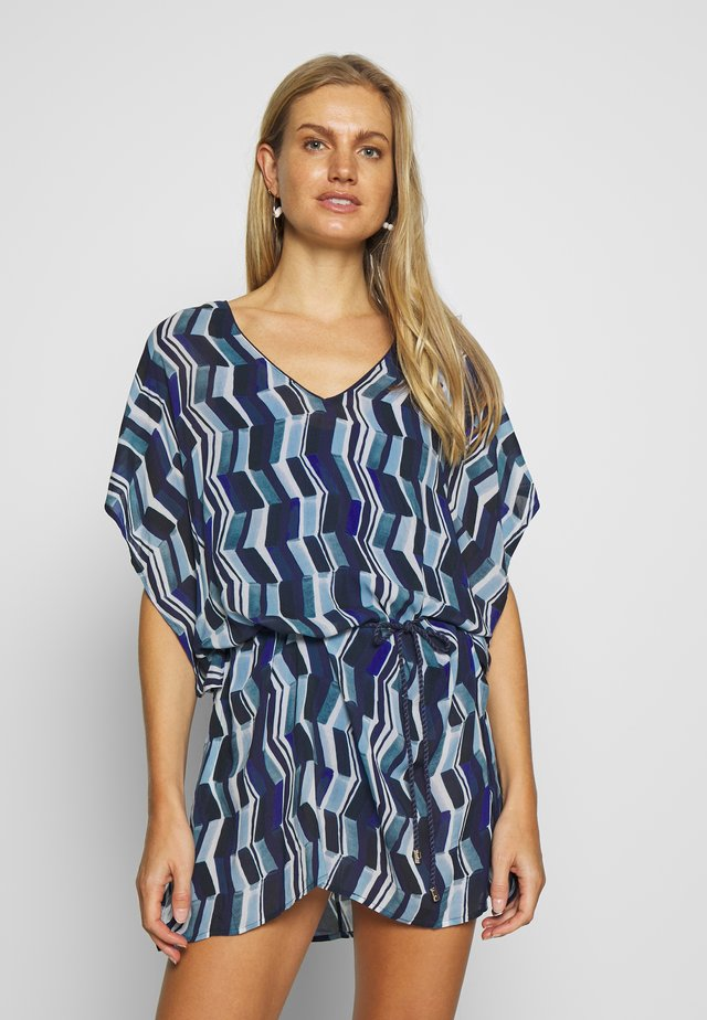 DEEP SEA KAFTAN - Strandaccessories - blue waves
