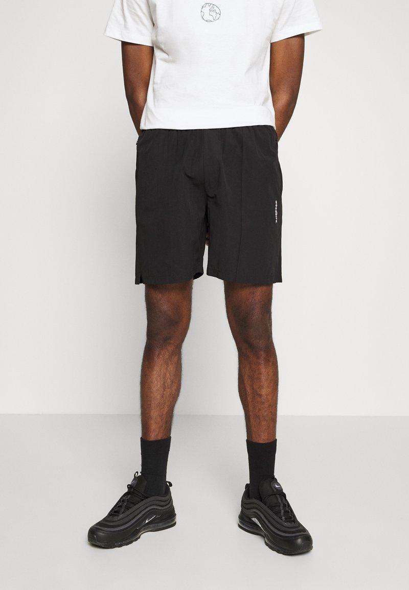 Woodbird - HANSI TRACK - Shorts - black
