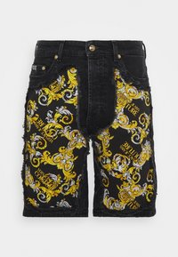 Versace Jeans Couture - Denim shorts - nero - 6