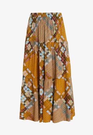 MALTE SKIRT - Áčková sukně - chai tea